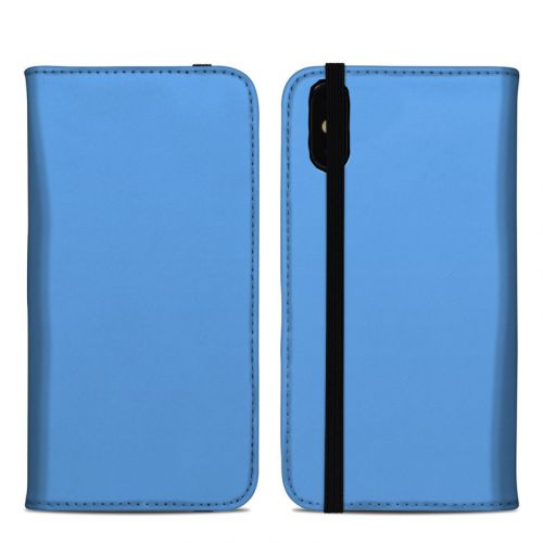 Solid State Blue iPhone XS Max Folio Case