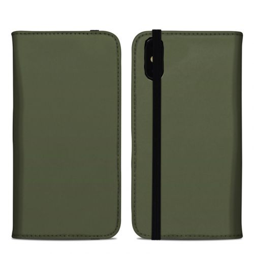 Solid State Olive Drab iPhone XS Max Folio Case