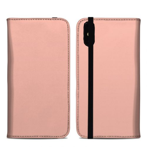 Solid State Peach iPhone XS Max Folio Case