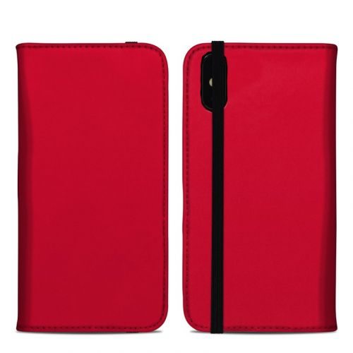 Solid State Red iPhone XS Max Folio Case