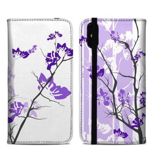 Violet Tranquility iPhone XS Max Folio Case