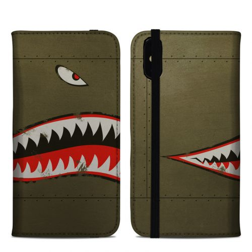 USAF Shark iPhone XS Max Folio Case