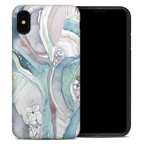 Abstract Organic iPhone XS Max Hybrid Case