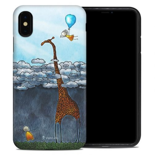 Above The Clouds iPhone XS Max Hybrid Case