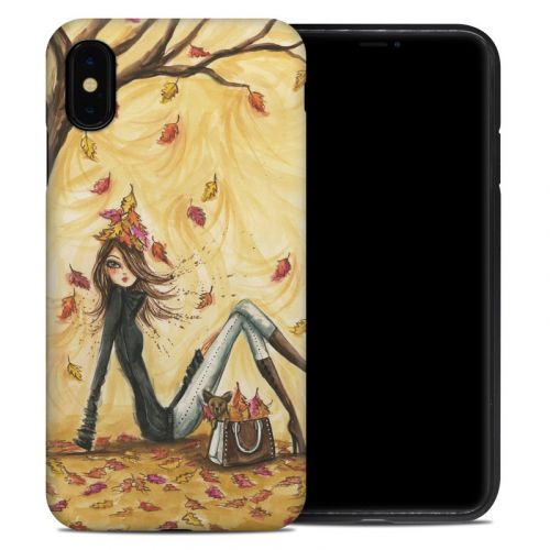 Autumn Leaves iPhone XS Max Hybrid Case