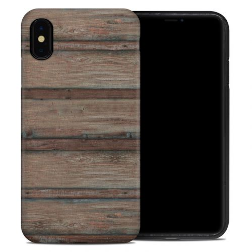 Boardwalk Wood iPhone XS Max Hybrid Case