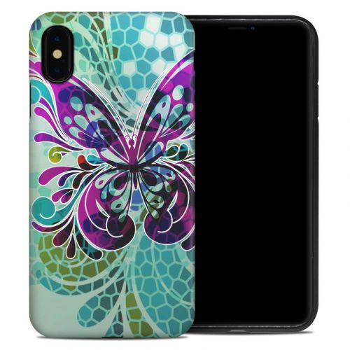 Butterfly Glass iPhone XS Max Hybrid Case