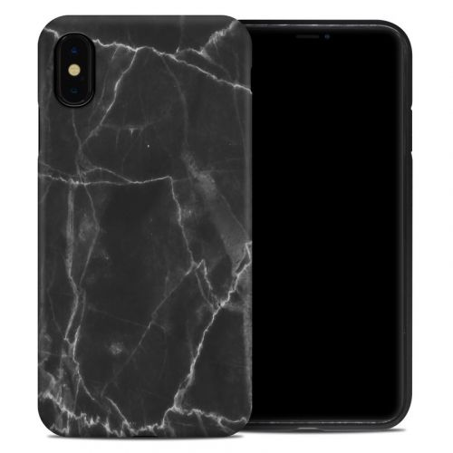 Black Marble iPhone XS Max Hybrid Case
