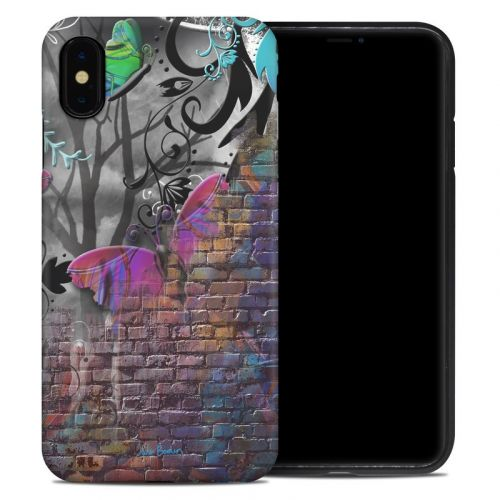 Butterfly Wall iPhone XS Max Hybrid Case