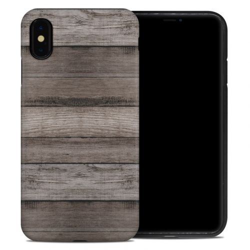 Barn Wood iPhone XS Max Hybrid Case