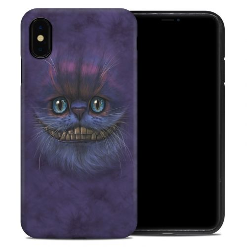 Cheshire Grin iPhone XS Max Hybrid Case