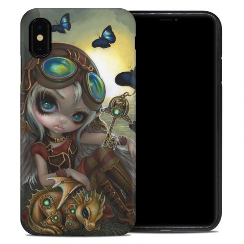 Clockwork Dragonling iPhone XS Max Hybrid Case
