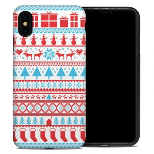 Comfy Christmas iPhone XS Max Hybrid Case