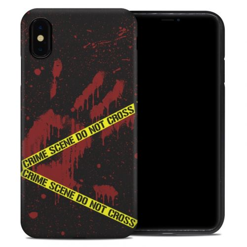 Crime Scene iPhone XS Max Hybrid Case