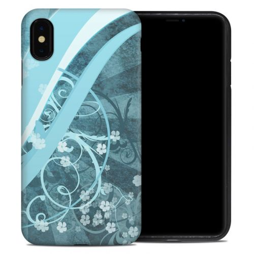 Flores Agua iPhone XS Max Hybrid Case