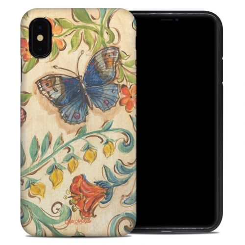 Garden Scroll iPhone XS Max Hybrid Case