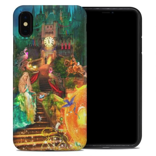 Midnight Fairytale iPhone XS Max Hybrid Case
