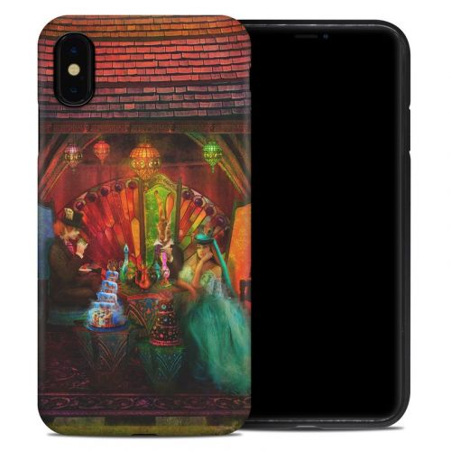 A Mad Tea Party iPhone XS Max Hybrid Case