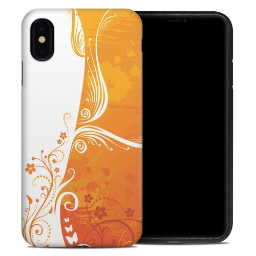 Orange Crush iPhone XS Max Hybrid Case