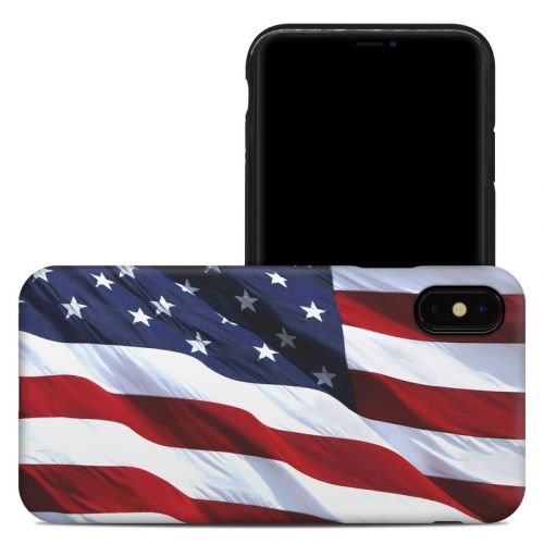Patriotic iPhone XS Max Hybrid Case