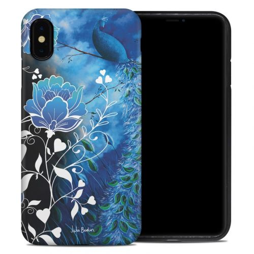 Peacock Sky iPhone XS Max Hybrid Case