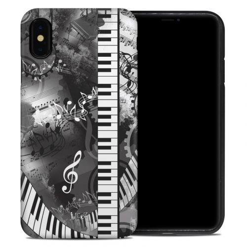 Piano Pizazz iPhone XS Max Hybrid Case