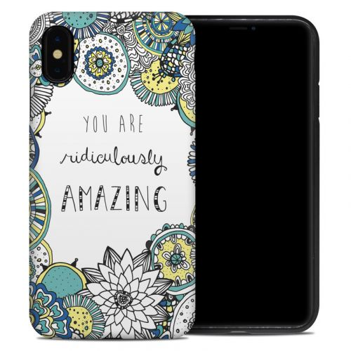 You Are Ridic iPhone XS Max Hybrid Case