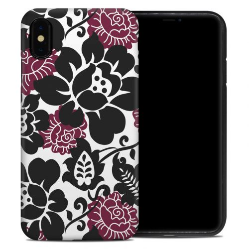 Rose Noir iPhone XS Max Hybrid Case