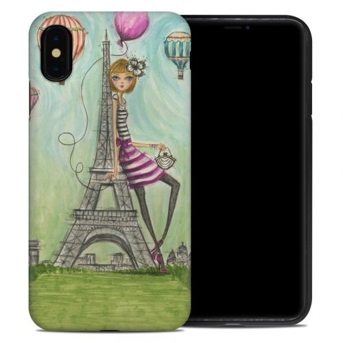 The Sights Paris iPhone XS Max Hybrid Case