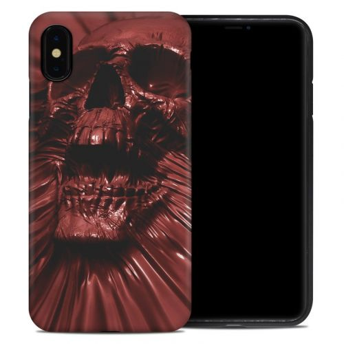 Skull Blood iPhone XS Max Hybrid Case