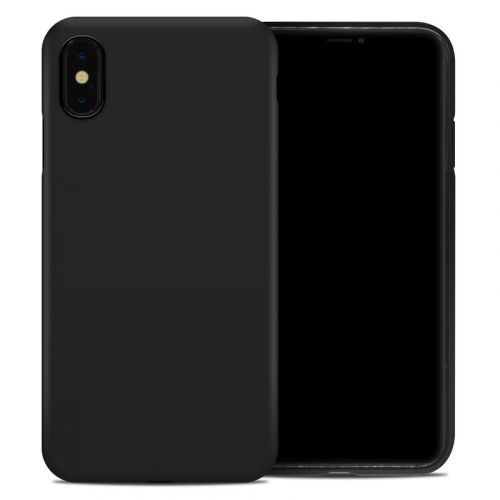 Solid State Black iPhone XS Max Hybrid Case