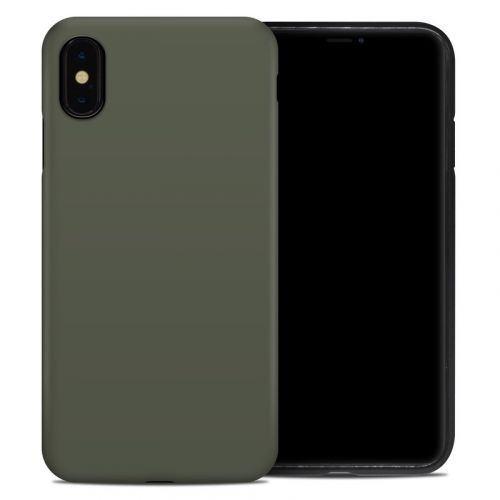 Solid State Olive Drab iPhone XS Max Hybrid Case