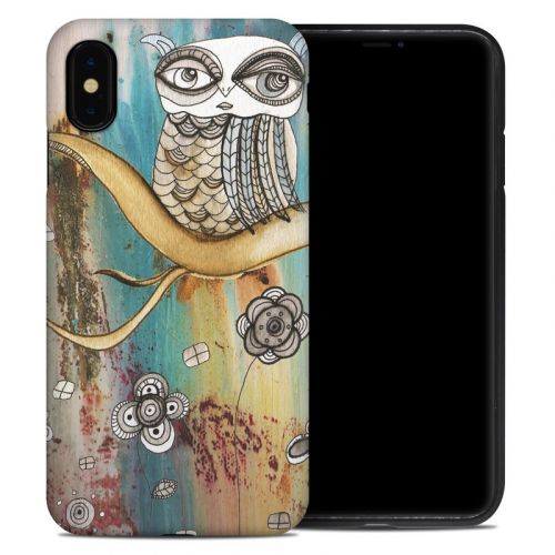 Surreal Owl iPhone XS Max Hybrid Case