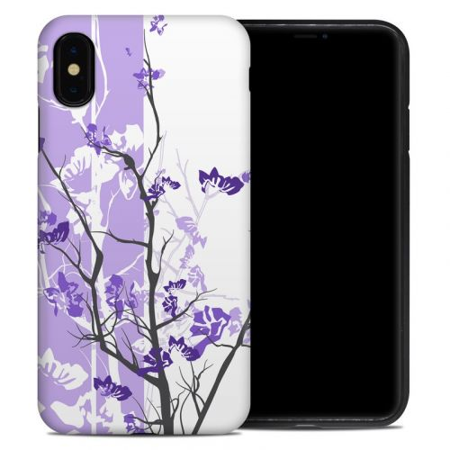 Violet Tranquility iPhone XS Max Hybrid Case