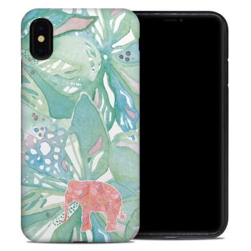 Tropical Elephant iPhone XS Max Hybrid Case