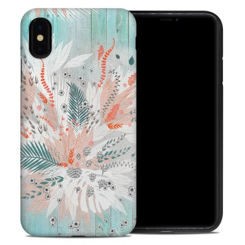 Tropical Fern iPhone XS Max Hybrid Case