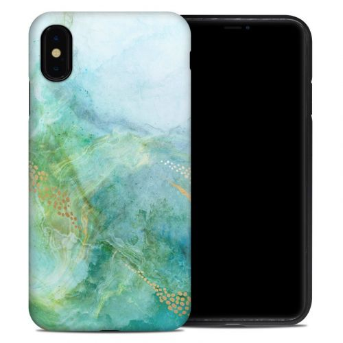 Winter Marble iPhone XS Max Hybrid Case