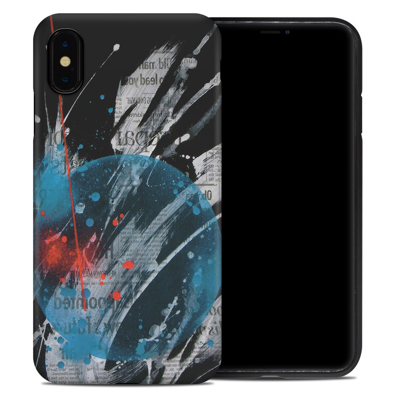 iPhone XS Max Hybrid Case design of Graphic design, Illustration, Graphics, Design, Art, Space, World with black, gray, blue, red colors