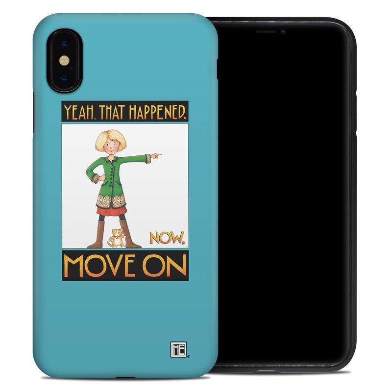 iPhone XS Max Hybrid Case design of Poster, Cartoon, Illustration with blue, white, black, gray, green colors