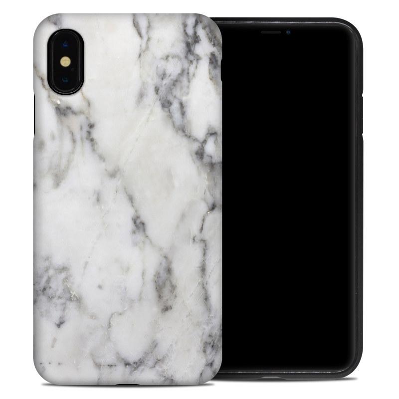 black marble iphone xs case