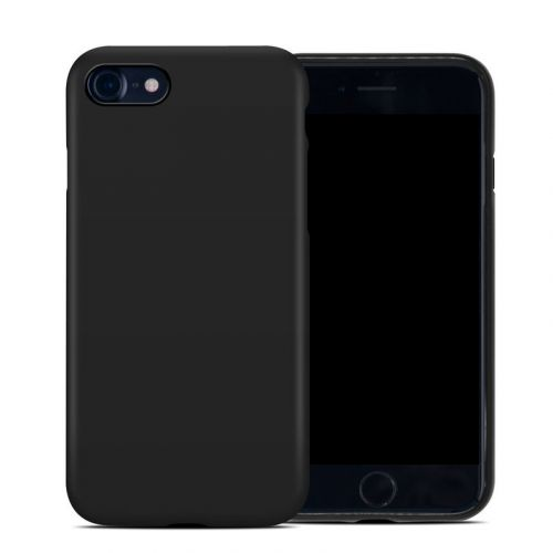 Solid State Black iPhone SE Hybrid Case