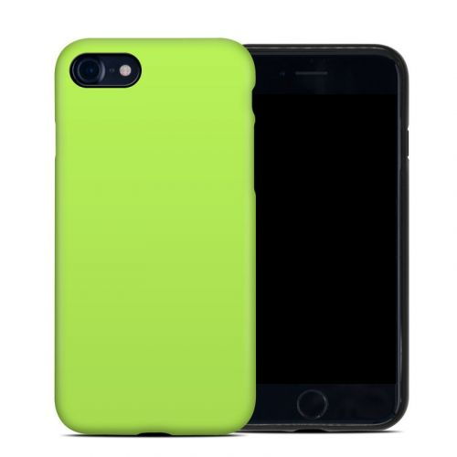Solid State Lime iPhone SE Hybrid Case