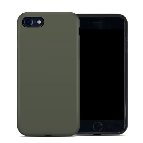 Solid State Olive Drab iPhone SE Hybrid Case