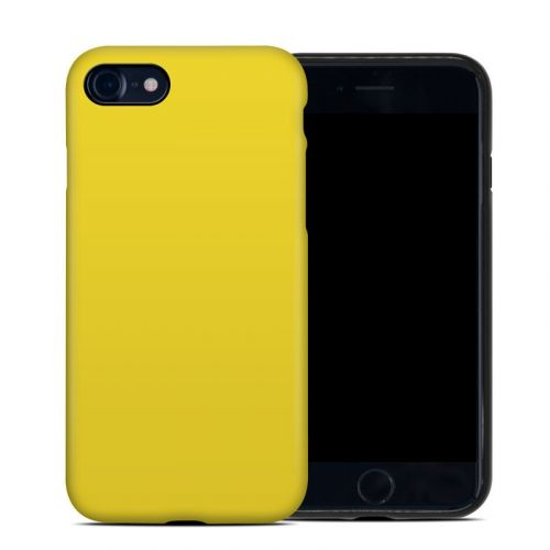 Solid State Yellow iPhone SE Hybrid Case