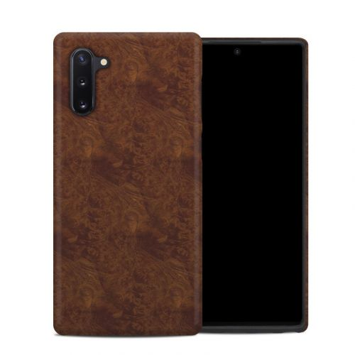 Dark Burlwood Samsung Galaxy Note 10 Hybrid Case