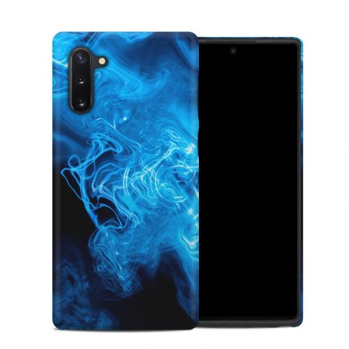 Blue Quantum Waves Samsung Galaxy Note 10 Hybrid Case