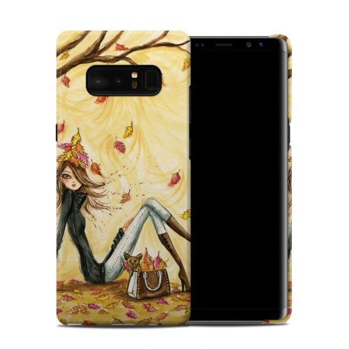 Autumn Leaves Galaxy Note 8 Clip Case