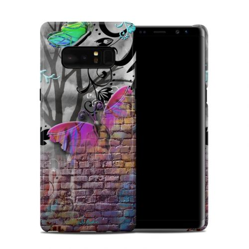 Butterfly Wall Galaxy Note 8 Clip Case
