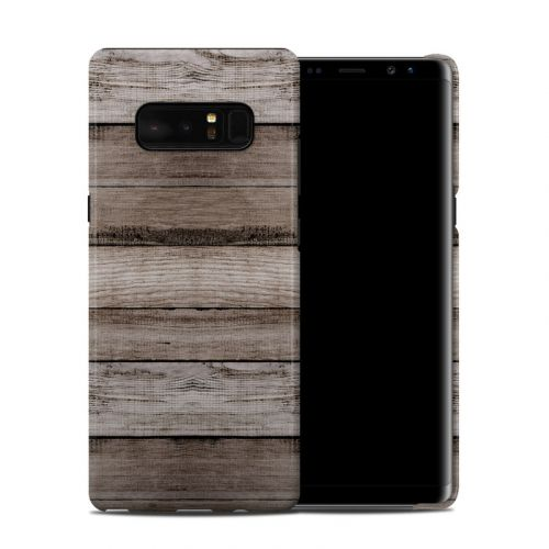 Barn Wood Samsung Galaxy Note 8 Clip Case