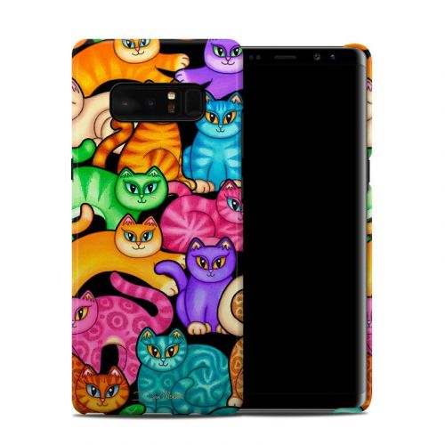 Colorful Kittens Galaxy Note 8 Clip Case
